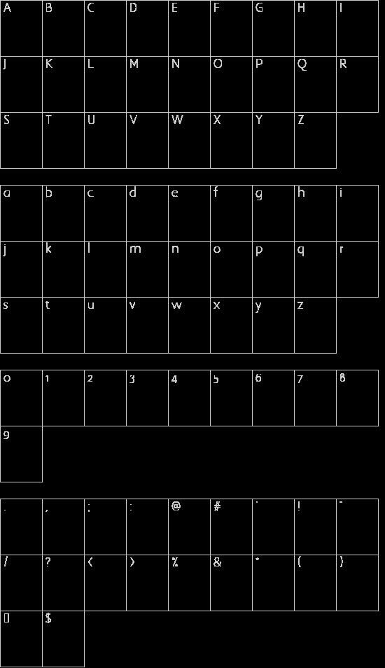 Tipo de letra punteada Detalles de la Fuente - Tipos de letra para ...